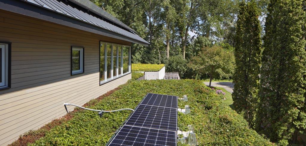 Matre Roof Garden Solar Panels Showcase Renovations